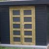 Tuinhuisje met sauna